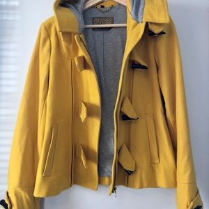 Guess Hooded Peacoat